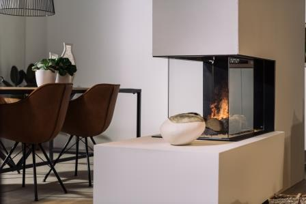Roomdivider elektrisch Faber e Matrix 800-500 RD