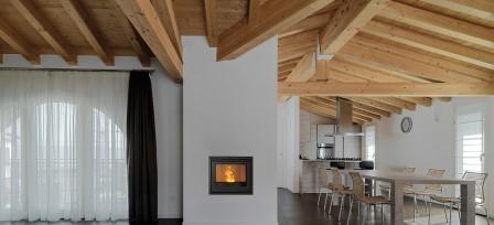 Inbouw pelletkachel Nordic Fire Boxline Compact
