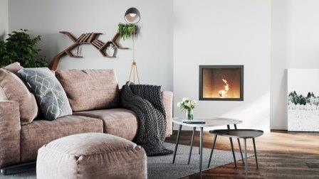Pellet inbouwkachel Sienna 7, Nordic Fire